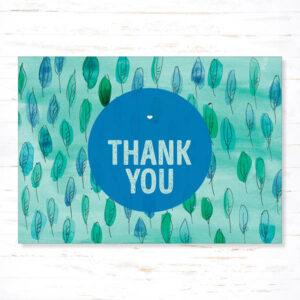 Postkaart Bedankt Thank you