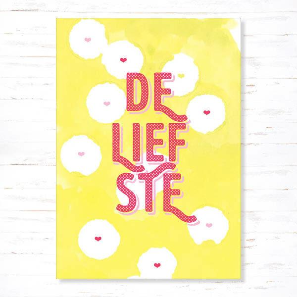 Withloov Postkaart Mama De liefste