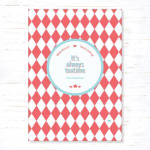 Withloov Postkaart Vriendschap It is always teatime