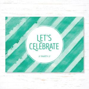 Withloov Postkaart Feest Celebrate
