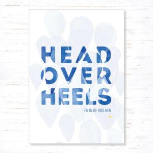 Withloov Postkaart Liefde Head over heels