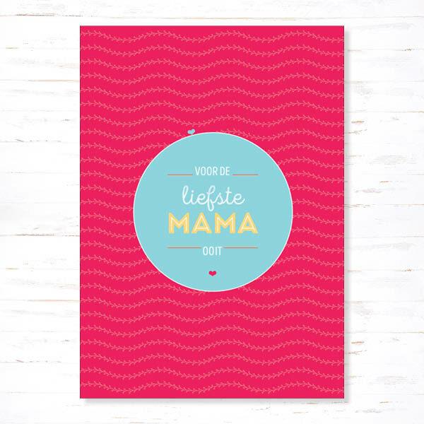 Withloov Postkaart Voor de liefste mama