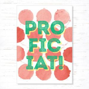 Withloov Postkaart Feest Proficiat
