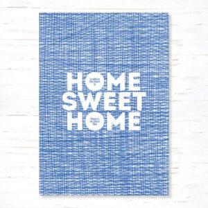 Withloov Postkaart Verhuis Home Sweet Home