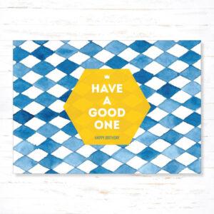 Withloov Postkaart Verjaardag Have a good one