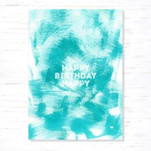 Withloov Postkaart Verjaardag Happy birthday happy