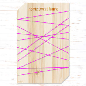 Withloov memory board large home sweet home