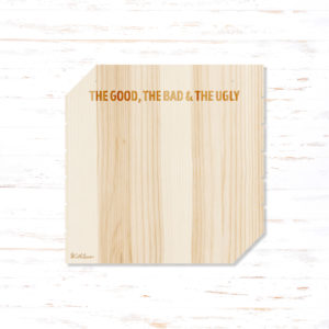 Withloov memory board vierkant The good The bad & The ugly