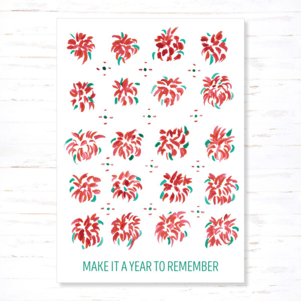 Withloov kerstkaart A year to remember