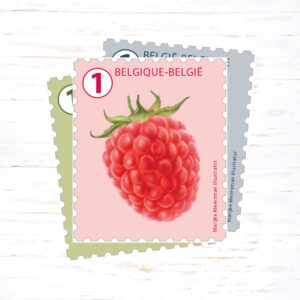 postzegel bij je kaartje