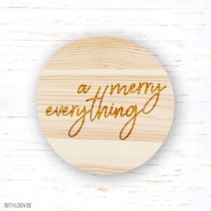 Withloov magneet A merry everything