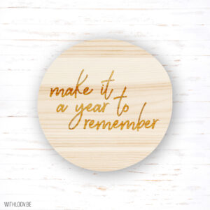 Withloov magneet A year to remember