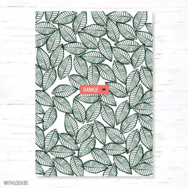 WTH_21_webshop-Withloov postkaart dankje