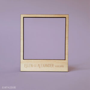 Withloov polaroid magneet koppeltje