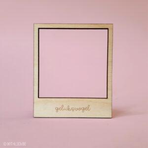 Withloov polaroid magneet eigen tekst
