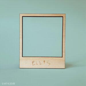 Withloov polaroid magneet handgeschreven