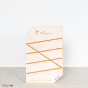 Withloov memory board klein eigen ontwerp