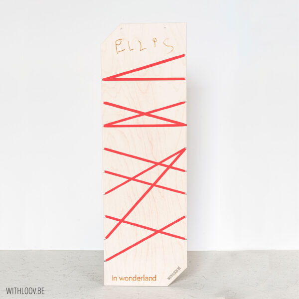 Withloov memory board lang smal handgeschreven