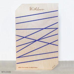 Withloov memory board groot eigen ontwerp